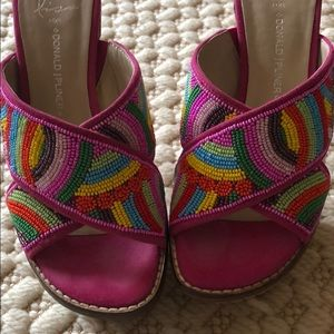 Shoes-Sandals-Donald Pliner-Size 6